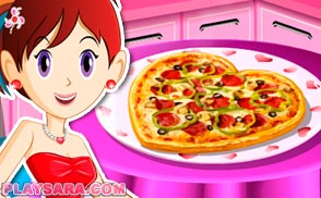 Pizza Saint Valentine