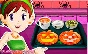 Quesadillas Halloween